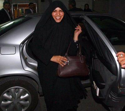 رونمایی المانیتور از اولین رئیس جمهور زن ایران + تصویر